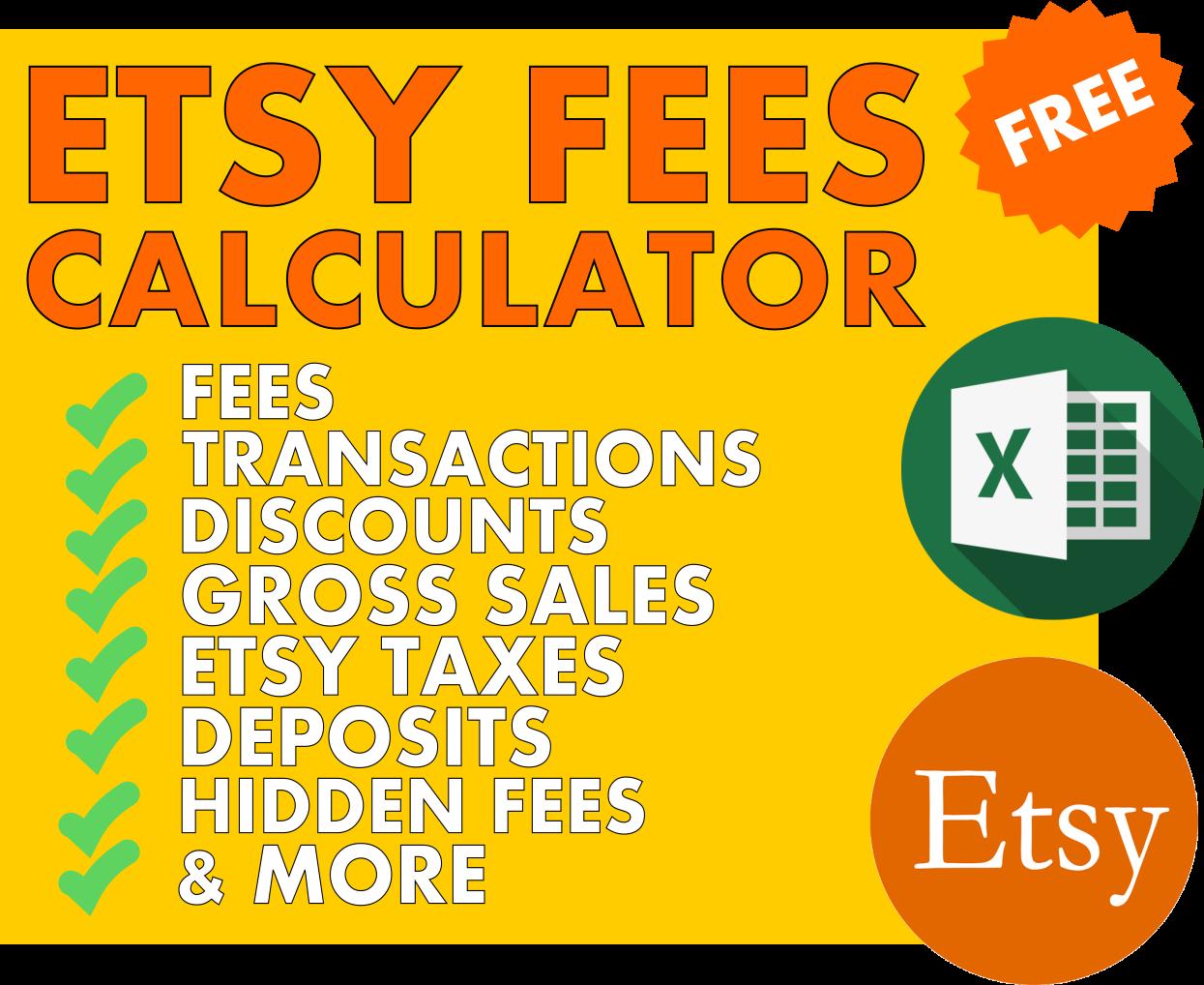 free etsy fee calculator