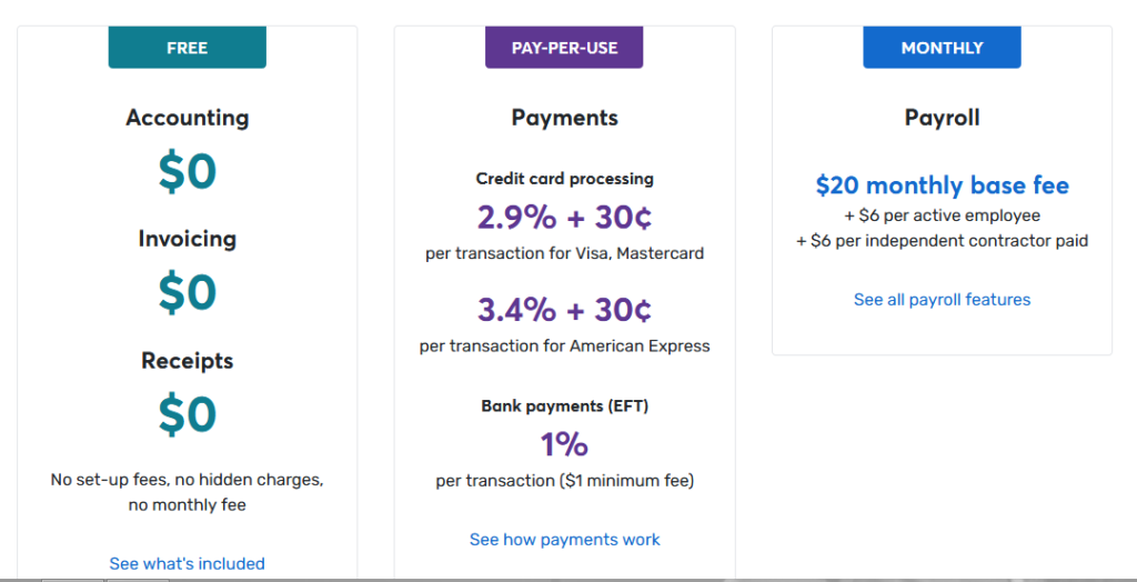 Wave accounting plans and prices