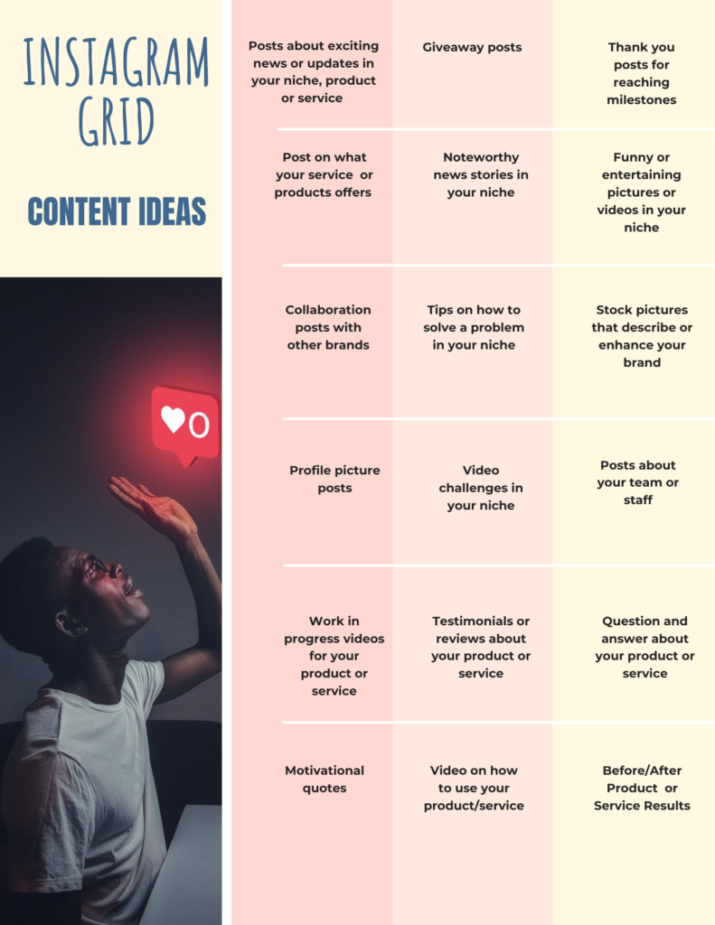 What to post for Instagram. Instagram post content ideas for 2021. Instagram posts ideas for 2021